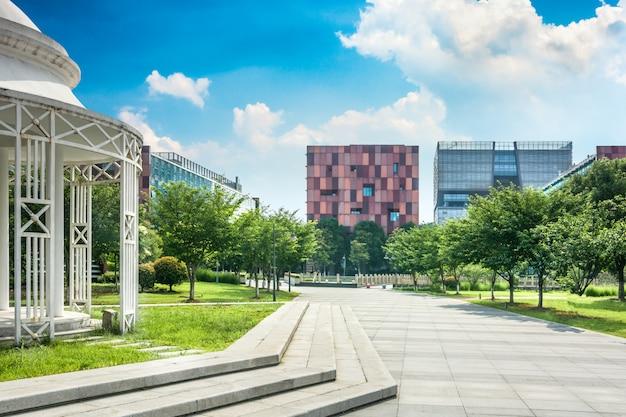 El edificio de oficinas