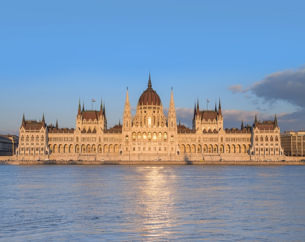 Edificio del parlamento en budapest