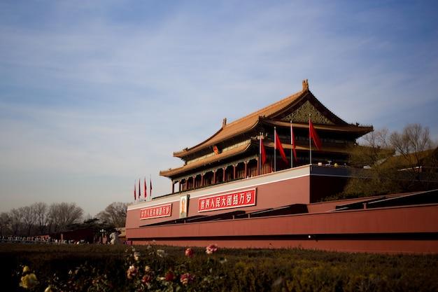Edificio tradicional chino