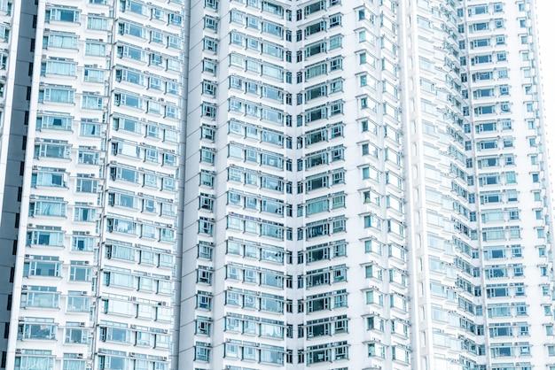 Edificio de ventana de cristal de arquitectura
