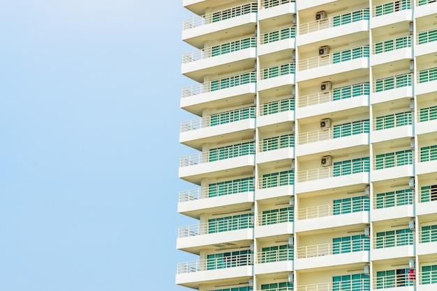Edificio de la ventana