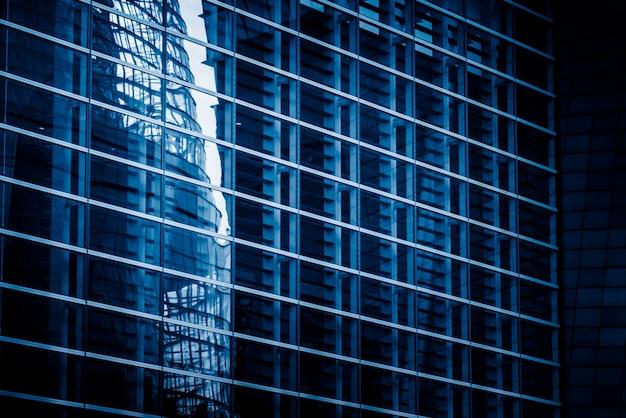 Edificios de gran altura en la ciudad moderna