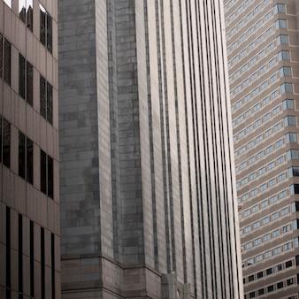Edificios en el distrito financiero de boston, massachusetts, ee.uu.