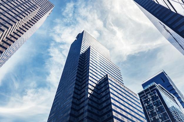 Edificios de gran altura en filadelfia, ee. uu.
