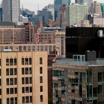Edificios en manhattan, nueva york, estados unidos
