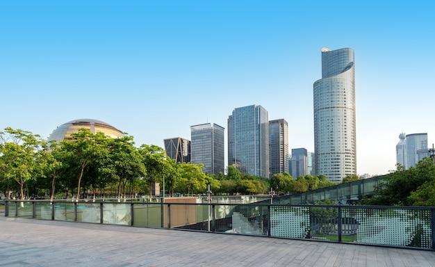 Edificios modernos en hangzhou china