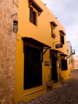 Edificios en rhodes grecia