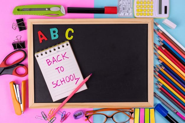 Educación, concepto de regreso a la escuela.