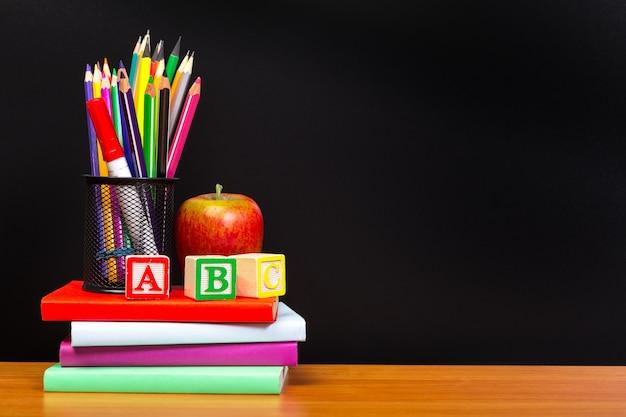 Educación o concepto de regreso a la escuela.