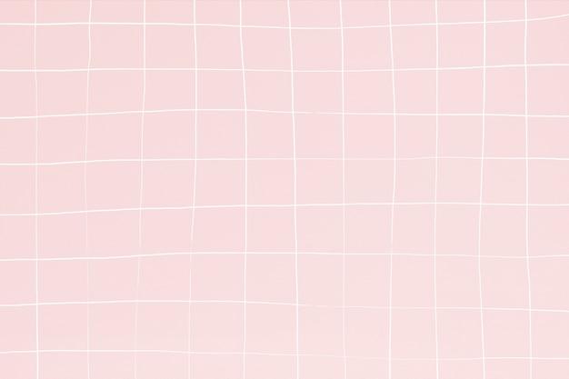 Efecto de ondulación del fondo de la textura del azulejo de la piscina del rosa brumoso