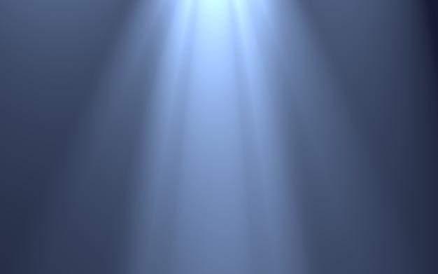 Efectos de luz de rayos aislados _ fondo