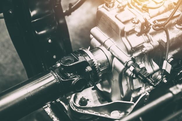 Eje del vehículo eje de transmisión de potencia a la rueda del carro