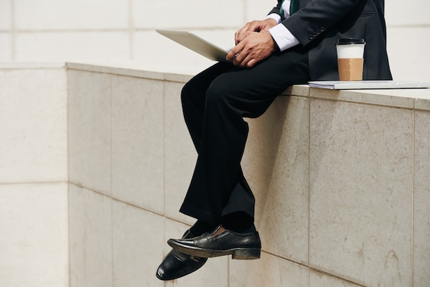 Ejecutivo de negocios de trabajo