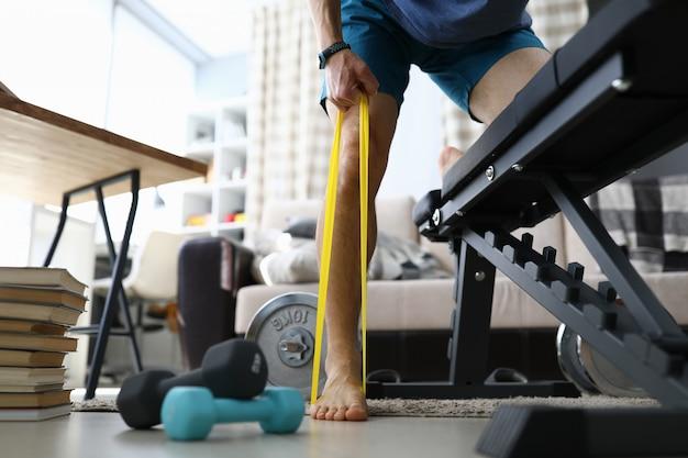 Ejercicio para piernas y cuerpo fuertes