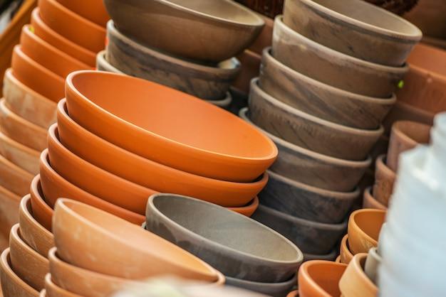 La elección de las macetas de cerámica