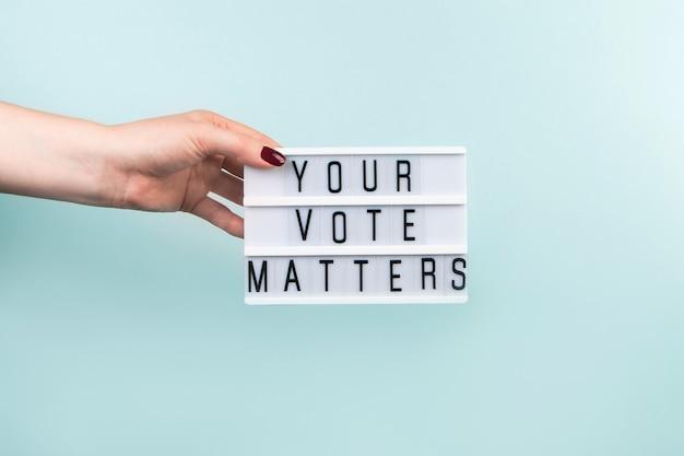 Elecciones y concepto de votación.