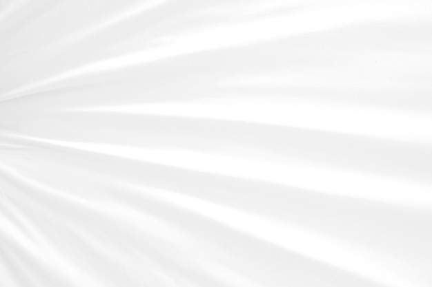 Elegancia resumen enfoque suave onda tela blanca uso para fondo o papel tapiz.