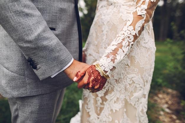 Elegante boda india