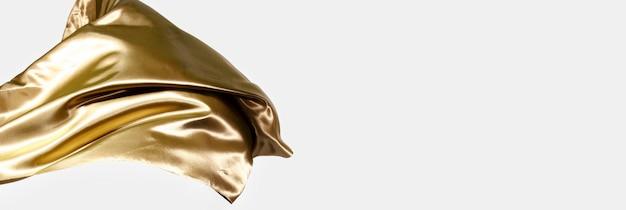 Elegante concepto de seda con espacio de copia