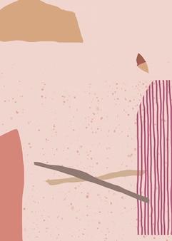 Elegante diseño de fondo abstracto de memphis