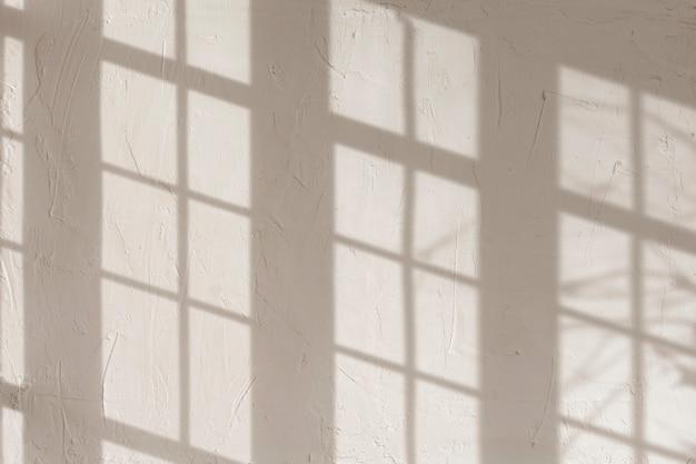 Elemento de diseño de fondo de sombra de marco de ventana