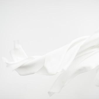 Elemento de diseño de fondo de textura de tela blanca