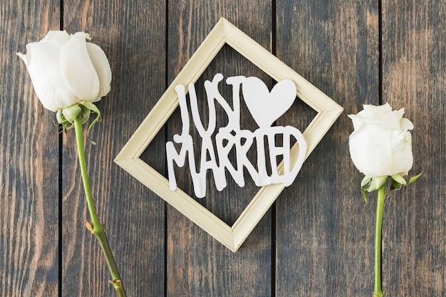 Elementos decorativos de boda