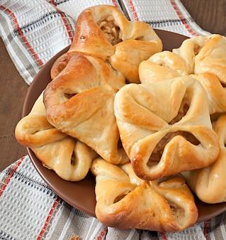 Empanadas con manzanas