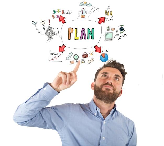 El empresario piensa organizar su vida laboral