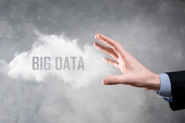 El empresario tiene la inscripción big data