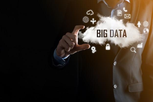 El empresario tiene la palabra de inscripción big data