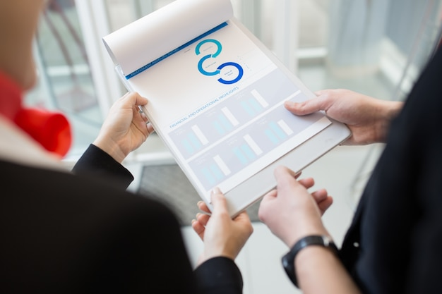 Empresarios con informe de auditoría