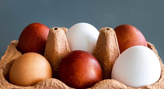Encofrado con huevos