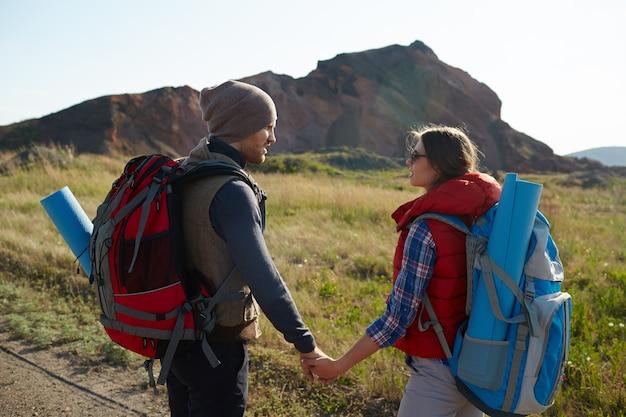Encontrar aventuras juntos