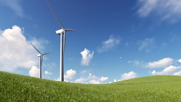Energía de molino de viento