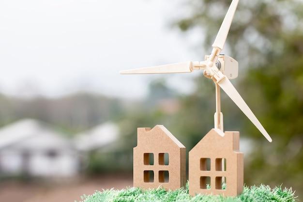 Energía renovable futuro concepto de energía eléctrica limpia alternativa