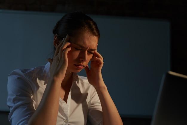 Enfermo y cansado