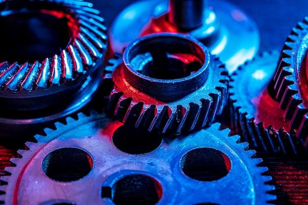 Engranajes, pieza de máquina