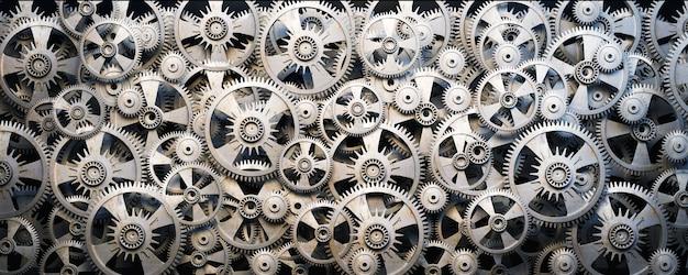 Engranajes y ruedas dentadas 3d