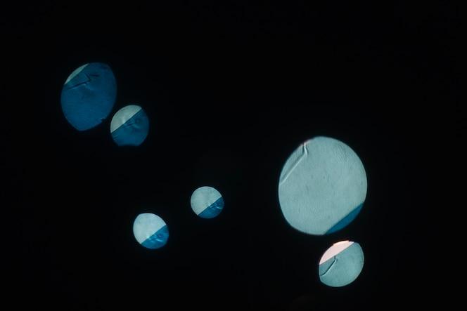 Enormes manchas de luz