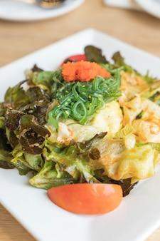 Ensalada de algas picantes