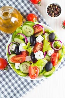Ensalada griega fresca