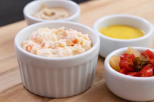 Ensalada de mayonesa de verduras