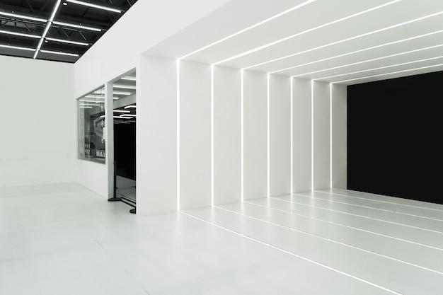 Entrada a la sala de exposiciones de ciencia y tecnología