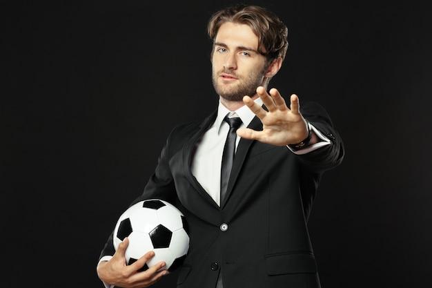 Entrenador, negocios, deporte