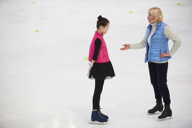 Entrenador de patinaje artístico
