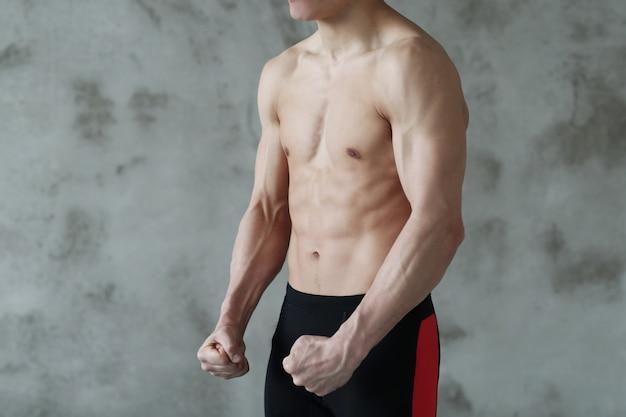 Entrenamiento de fitness hombre