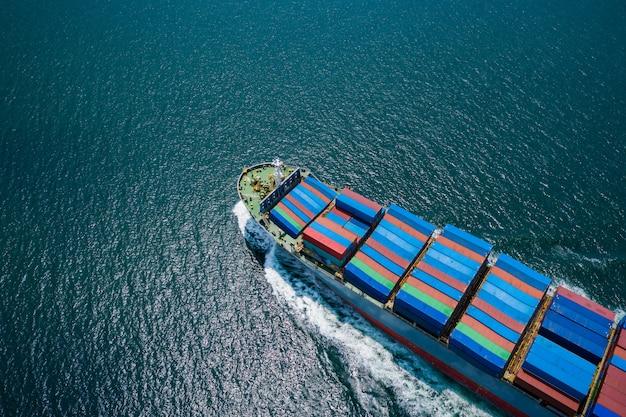 Envíos comerciales de contenedores de carga de importación y exportación internacional de carga de tailandia
