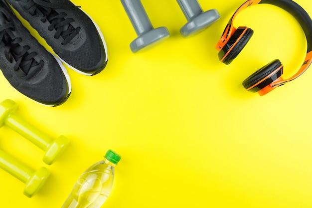 Equipamiento deportivo para fitness