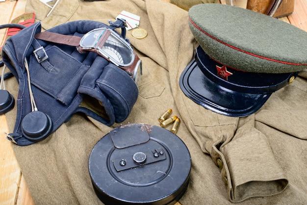 Equipamiento del soldado soviético durante la segunda guerra mundial